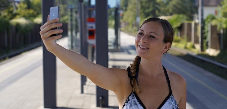 MOBILWochen Gewinnspiel Selfie