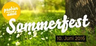 Das war das Probier amol-Sommerfest am 10. Juni 2016